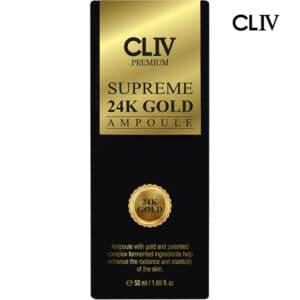 CLIV SUPREME 24K GOLD AMPOULE