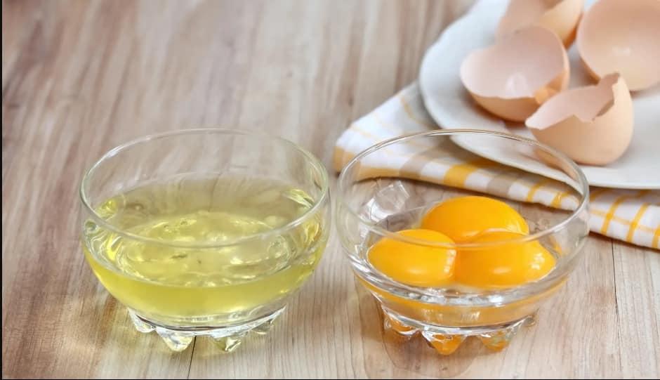 ใช้ไข่ขาว